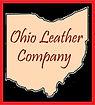 Ohio Leather Company Logo - Black - Red