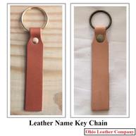 Leather Name Keychain - OhioLeatherCompany.com -07