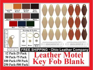 Leather Motel Key Fob Bob Kit - Ohio Leather Company.com