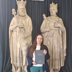 Ola Bednarz is now officially a PhD