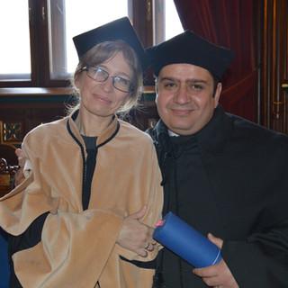 Hevidar's graduation ceremony