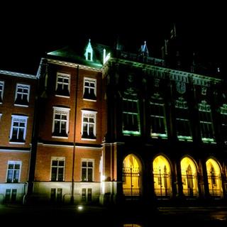 Collegium Novum by night