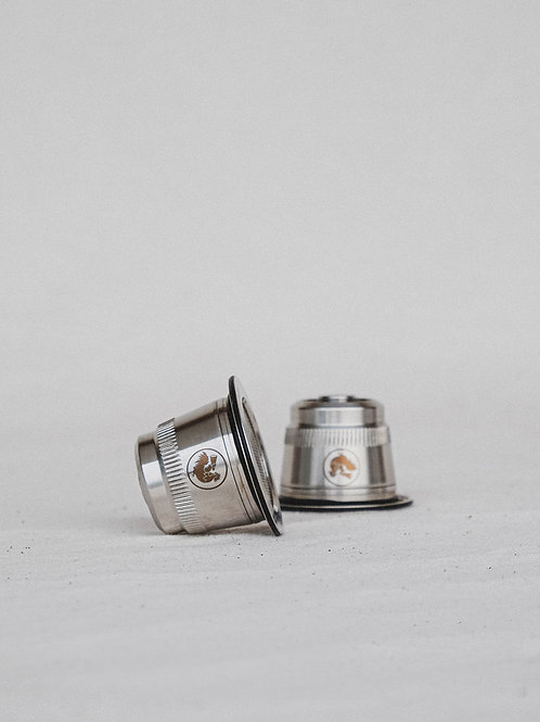 Cápsulas Café Reutilizables Nespresso (Pack Doble)