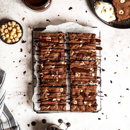 Čokoládové cuketové brownies