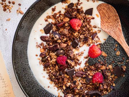 Čokoládová granola