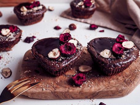 Čokoládové mini cheesecakes