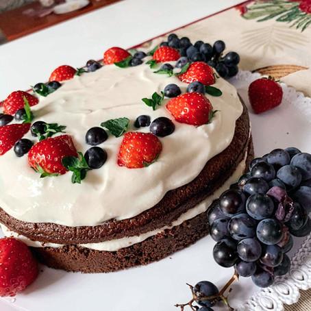 Dort z bílé čokolády a mascarpone