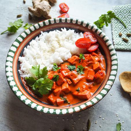 Tandoori tofu po indicku