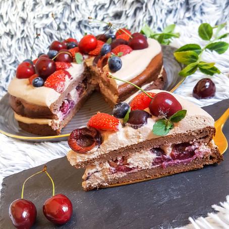 Třešňový dort