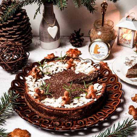 Perníčkový cheesecake