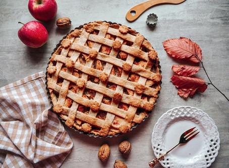 Jablečný koláč ze špladové mouky (veganský)