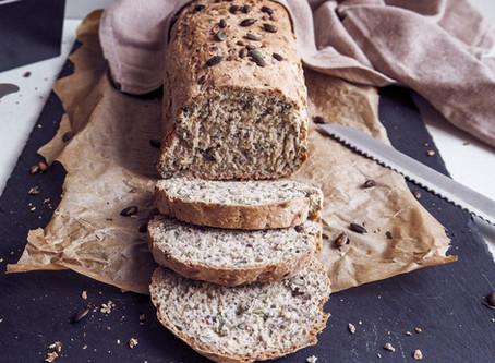 Semínkový chléb ze špaldové mouky