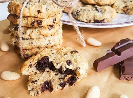 Banánovo - mandlové cookies sušenky