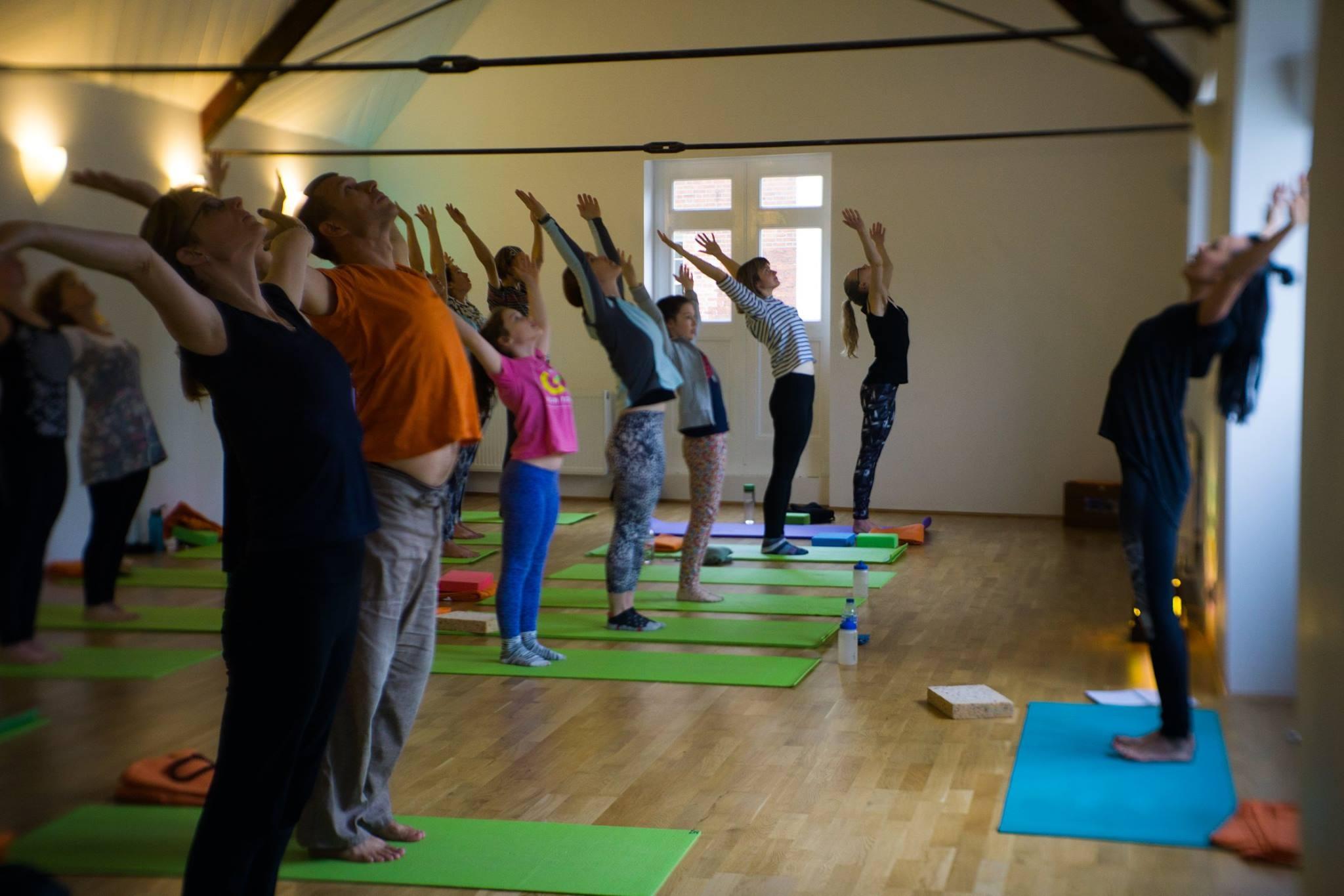 Charity Yoga Class :)