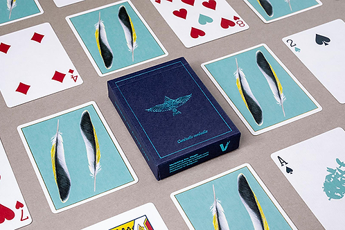 Feather Deck Goldfinch Edition (Teal)