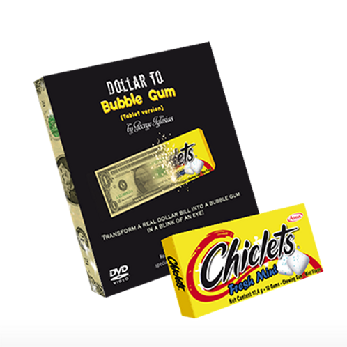Dollar to Bubble Gum (Chiclets)