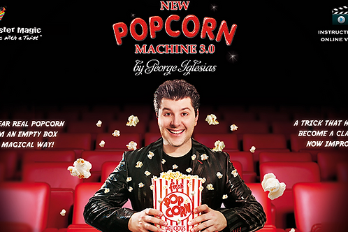 Description:   NEW POPCORN MACHINE 3.0 by George Iglesias!