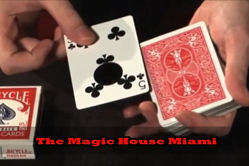 The (W)Hole Deck Red (DVD and Gimmick) by Marc Arthur and Kozmomagic