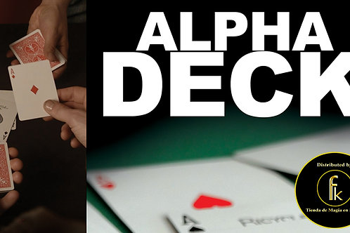Alpha Deck (Cards and Online Instructions)