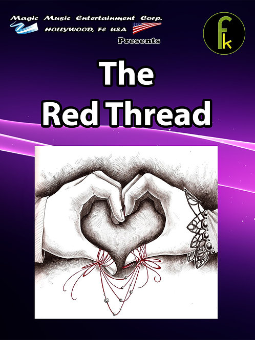 "THE RED THREAD TAMAÑO POKER ""BICYCLE"""