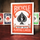 Thumbnail: Bicycle Orange Playing Cards