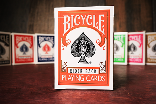 Bicycle Orange Playing Cards
