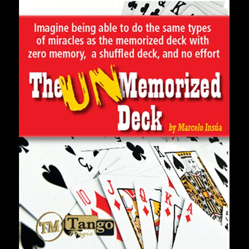 Unmemorized Deck