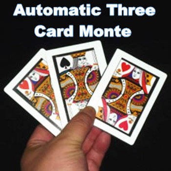 AUTOMATIC THREE CARD MONTE (TAMAÑO POKER)
