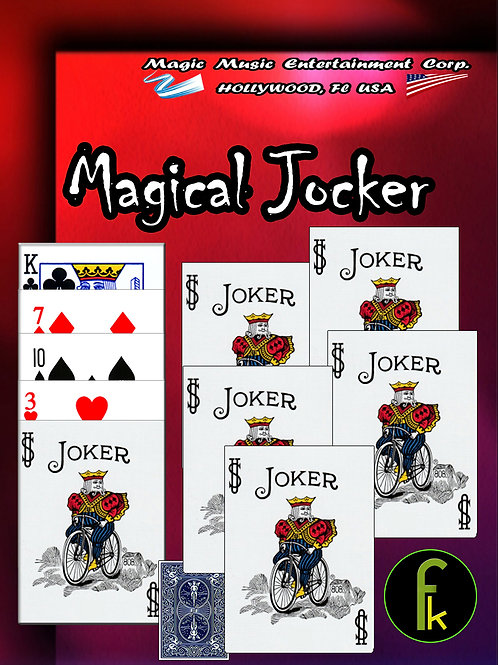 MAGICAL JOCKER -AZUL