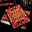Thumbnail: Bicycle Stained Glass Phoenix Playing Cards