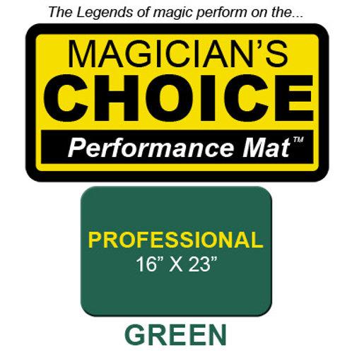 Professional Close-Up Mat (GREEN - 16x23)
