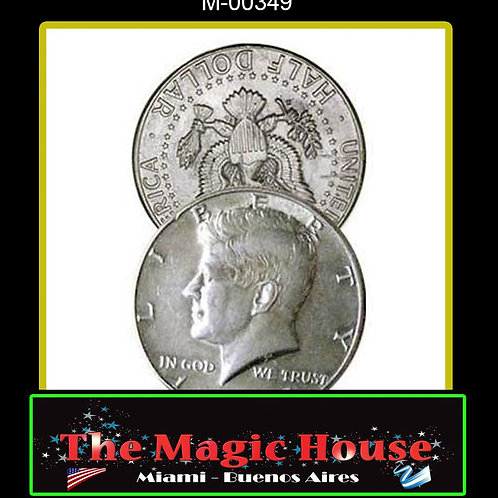 Moneda Flipper Medio Dolar
