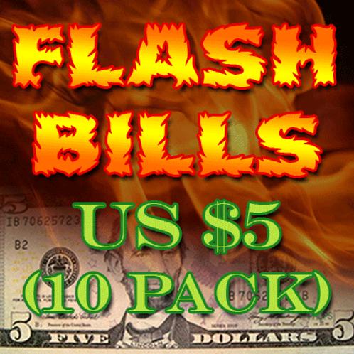 Flash Bill Ten Pack ($5.00)