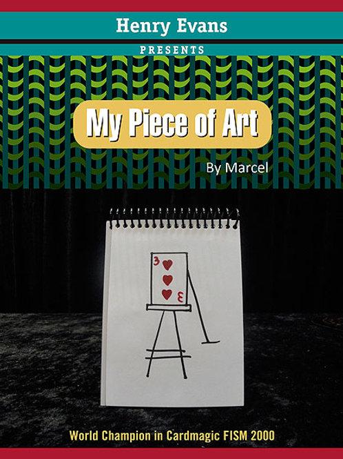 MY PIECE OF ART
