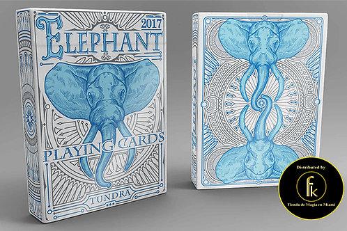 Elephant Playing Cards (Tundra)