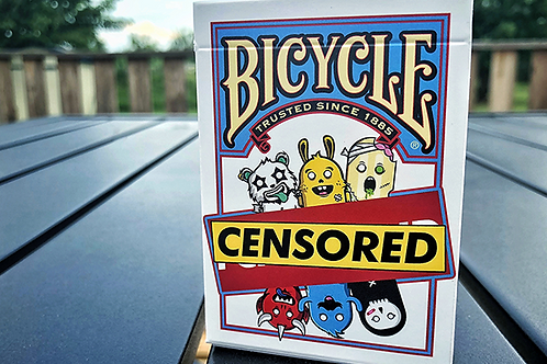Bicycle Censored Playing Cards