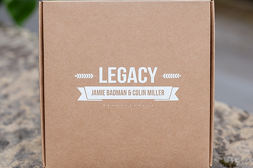 Legacy V2 (Gimmicks, Book and Online Instructions) by Jamie Badman and Colin Mil