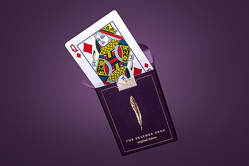 Feather Deck Goldfinch Edition (Gold)