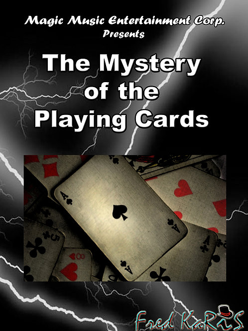 THE MYSTERY OF THE PLAYING CARDS ( GIMMICK)