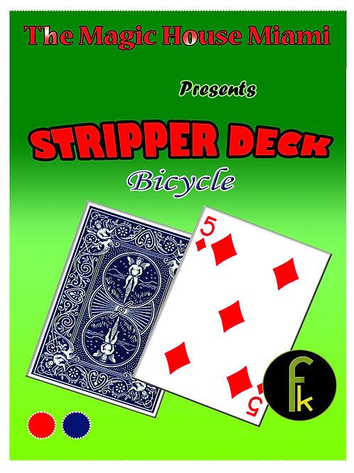 STRIPPER DECK - BICYCLE AZUL