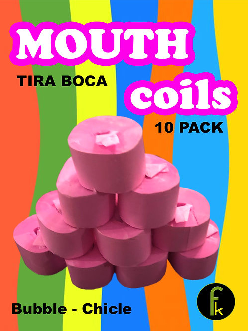 Mouth Coil (10/Pink) by Fred Karis