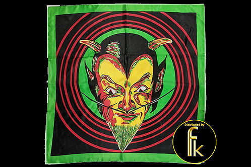 """Rice Picture Silk 27"""" (Devil) by Silk King Studios"""