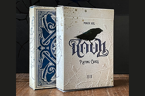 RAVN IIII (Blue) Playing Cards Designed