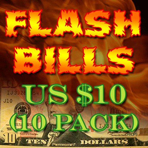 Flash Bill Ten Pack ($10.00)