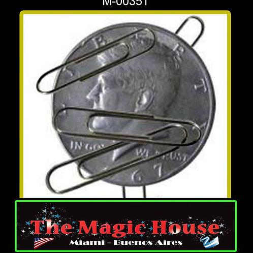 Moneda Magnética Medio Dolar