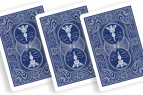 Bicycle Playing Cards 809 Mandolin Blue