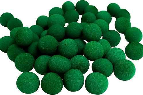 2 inch Super Soft Sponge Ball (Green) Bag of 50 from Magic by Gosh