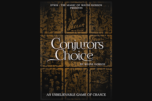 Conjuror's Choice (Gimmicks and Online Instructions)