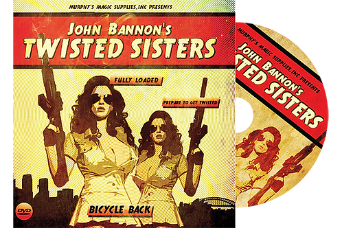 Twisted Sisters 2.0 (Gimmicks and Online Instructions) Bicycle Back