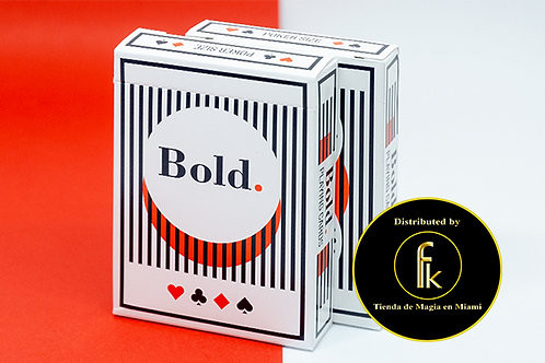 Bold Playing Cards